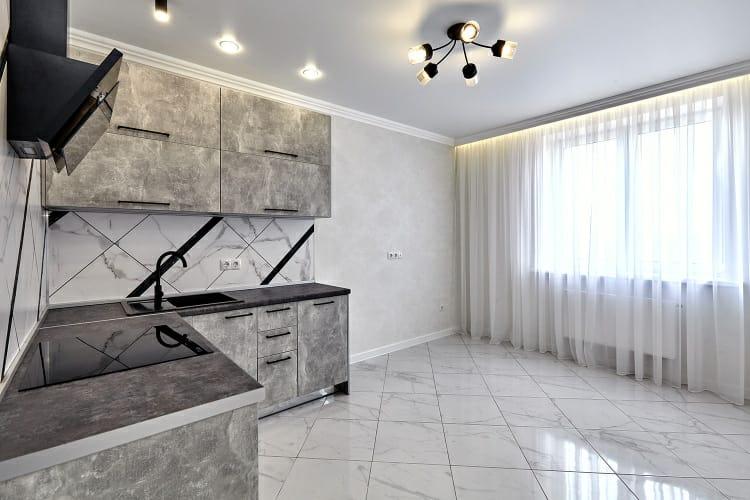 Квартира в стиле Total white, 70 кв.м, Краснодар, Северные мосты, 5 800 000 руб.