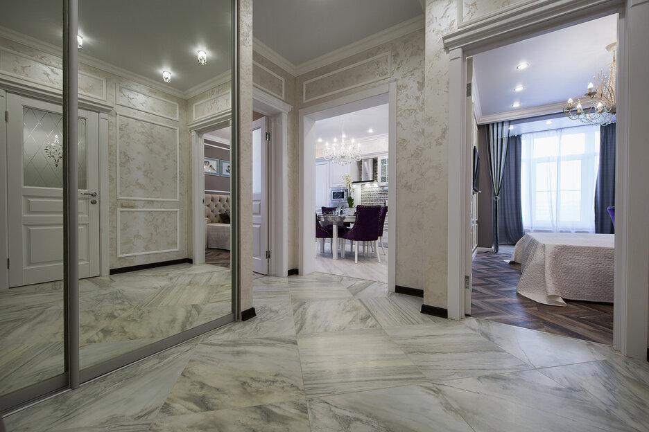 Евро 3-комнатная квартира 92 квадратных метров