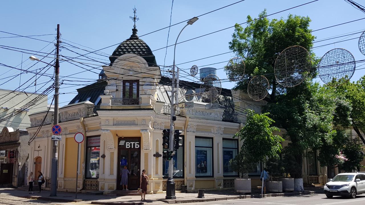 Историческое здание постройки 1901 года